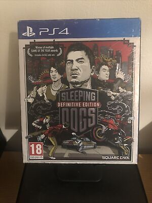 £11.10 • Buy Sleeping Dogs Definitive Edition Ps4