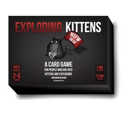 AU29.50 • Buy BRAND NEW Exploding Kittens Cards (NSFW Desk) Adult Card Game Free Shipping