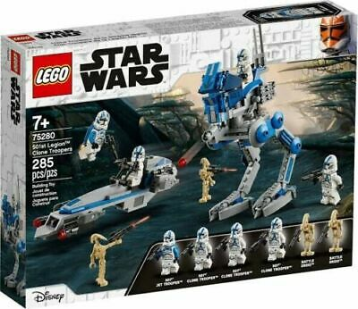 AU69 • Buy LEGO STAR WARS 75280 501st Legion™ Clone Troopers BRAND NEW And SEALED!