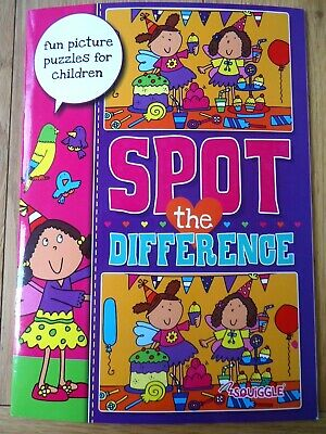 £2.99 • Buy Spot The Difference Book - Children's Puzzles - Large A4 Size - Full Colour -new