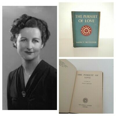 £25 • Buy The Pursuit Of Love - Nancy Mitford - 1947 Reprint Society Vintage Dust Jacket