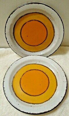 £14.62 • Buy Set Of 2 Stonehenge Midwinter SUN Bread & Butter Plate 7  Made In England (2-pc)
