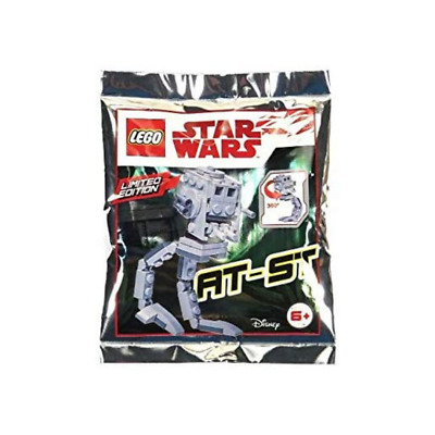£3.99 • Buy LEGO STAR WARS: AT-ST Polybag Set 911837 Brand New - Sealed