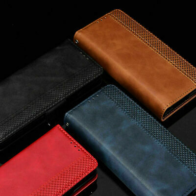 AU15.97 • Buy For Samsung Galaxy Z Fold 3 5G Leather Card Slot Magnetic Flip Wallet Case Cover