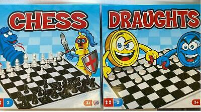 £5.96 • Buy Traditional Board Games Chess, Draughts, Snake & Ladder Game For Family & Kids