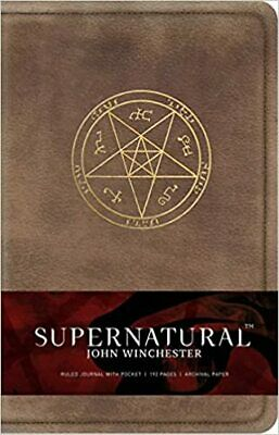 £22.60 • Buy Supernatural John Winchester Hardcover Ruled Journal Insights Journals Science