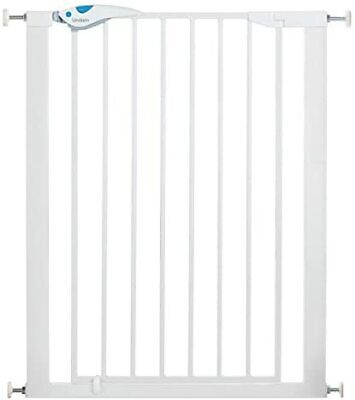 £65.66 • Buy NEW Easy Fit Plus Deluxe Tall Extra High Pressure Fit Safety Gate 76 82 Cm Whit