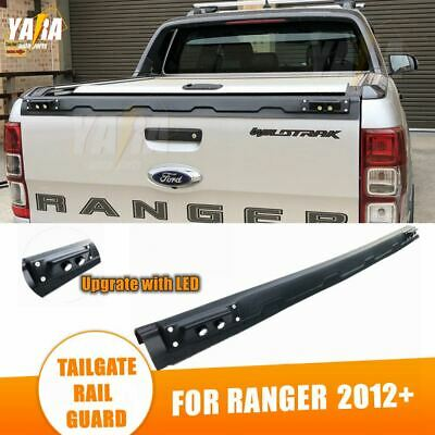 AU89 • Buy For Ford RANGER 2012-2021 TAILGATE RAIL GUARD CAP PROTECTOR REAR COVER WITH LED