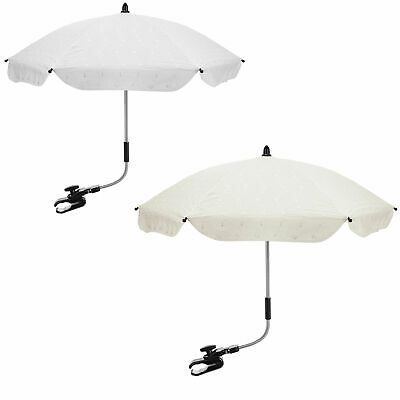 £12.99 • Buy Broderie Anglaise Baby Parasol Compatible With Maxi Cosi
