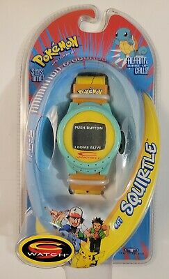 $58.90 • Buy Pokemon Squirtle C Watch #07 1998 New/Sealed