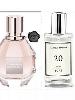£12.80 • Buy FM 20 Pure Collection Federico Mahora Perfume For Women 50ml UK