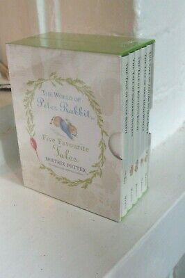 £8.40 • Buy New & Sealed.The World Of Peter Rabbit Five Favourite Tales From Beatrix Potter