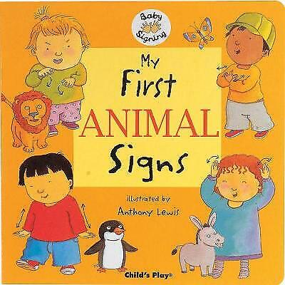 £6.80 • Buy My First Animal Signs: BSL (British Sign Language) - Baby Signing (Board Book) B