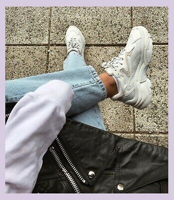 £85 • Buy Gorgeous Ash Addict Chunky Dad Trainers In Size 6