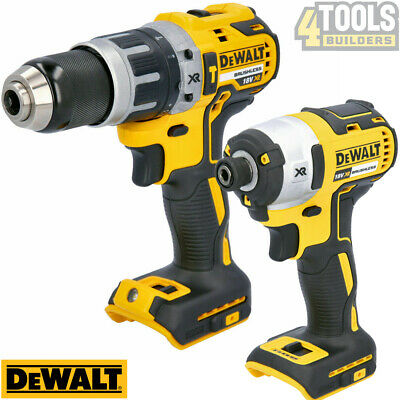 £154 • Buy Dewalt DCF887N 18V Brushless Impact Driver With DCD796N Combi Drill Twin Pack