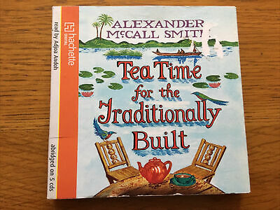 £7.99 • Buy ALEXANDER McCALL SMITH - Tea Time For The Traditionally Built - CD Audio Book