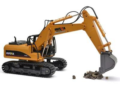 £49.99 • Buy HUINA 1550 2.4G 15 Channel Electronic Excavator Remote Control RC Truck Digger