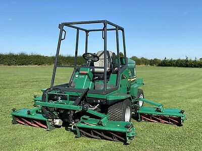 £7995 • Buy 2012 Ransomes Commander 3520 5 Gang Cylinder Ride Sit On Lawn Mower