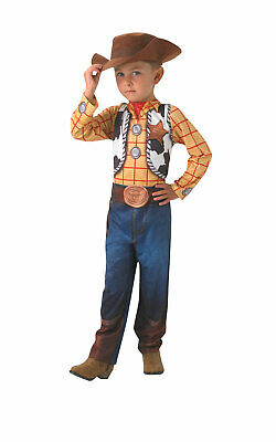 £23.99 • Buy Rubies Official Woody Classic Toy Story Cowboy Disney Boys Costume Age 3-4