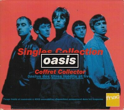 £54.45 • Buy Oasis Singles Collection French Box Set Limited Edition 5 Maxi CD Live Forever