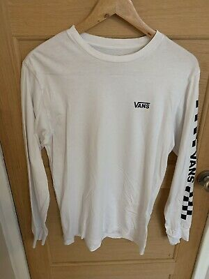 £8 • Buy VANS Off The Wall Long Sleeved T-Shirt, Size S, Very Nice Used Condition