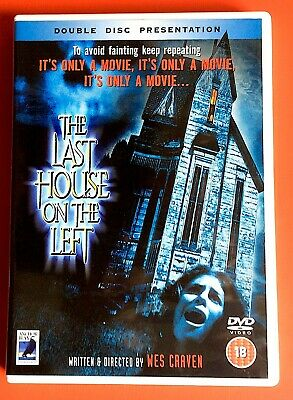 £4 • Buy The Last House On The Left -  Wes Craven - 1972 - Double Disc   -  Dvd