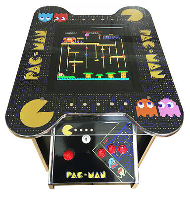 £699 • Buy Arcade Machine Cocktail Table 60 Retro Games 2 Player Gaming Cabinet Pub Shed