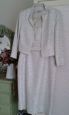 £22 • Buy Stunning And Elegant Designer Dress And Jacket, Small Size 12 (see Measurements)