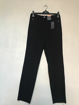 £14.95 • Buy New M&S Collection Ladies Straight Leg Trousers(black)Size 10 L32.5