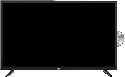 £219.19 • Buy EMtronics 32  Inch HD Ready 720p LED TV With Built-in DVD Player And Freeview HD