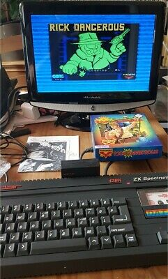 £160 • Buy Sinclair ZX Spectrum +2 128k Action Pack Boxed With Manual And Lots Of Games