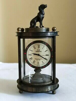 £275 • Buy Vintage/Antique Rare Omega Clock With Dog Finial