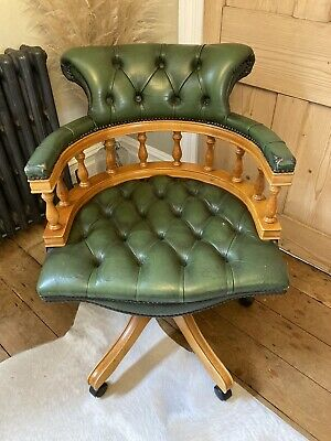 £250 • Buy Chesterfield Leather Captains Chair