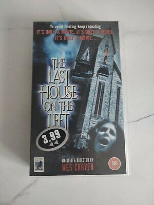 £19.99 • Buy Last House On The Left VHS