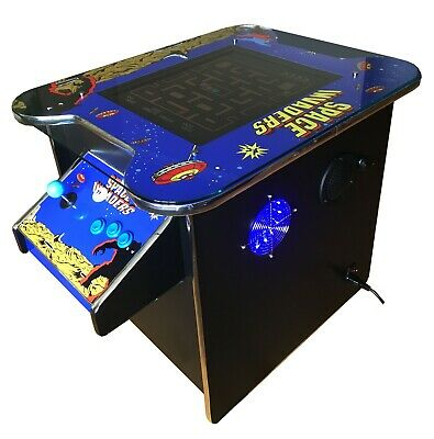 £699 • Buy Arcade Machine 60 Retro Games 2 Player Gaming Cabinet Cocktail Table Pub Shed
