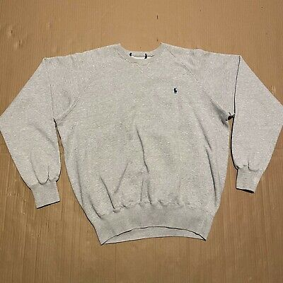 £22.95 • Buy Men's Polo Ralph Lauren Pullover Sweatshirt With Small Embroidered Logo Size L