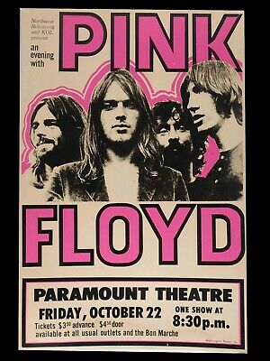 $10.99 • Buy Pink Floyd Concert Poster 18X24 Free Shipping