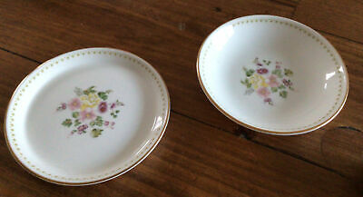 £10 • Buy Wedgwood Miarbelle,  2 X Butter Pats Or Little Trinket Dishes