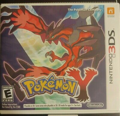 $12.95 • Buy Pokemon Y - Original Case With Insert - NO GAME - Fast Shipping Authentic