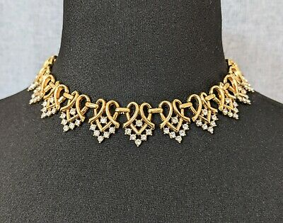 £350 • Buy Beautiful Vintage Designer Alfred Philippe For Trifari Jewellery Necklace