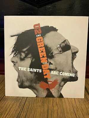 """£12.99 • Buy U2 And Green Day """"The Saints Are Coming"""" 7"""" Vinyl Single"""