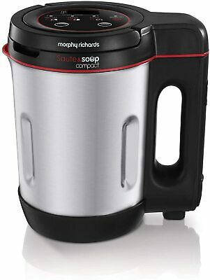 £24.99 • Buy Morphy Richards Compact Soup & Smoothie Maker Blender Stainless Steel 1 Litre