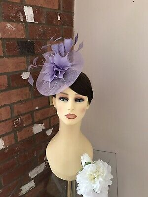 £75 • Buy Gwyther Snoxell Fascinator, Wedding Occasion, Formal Races In Lilac  NWT