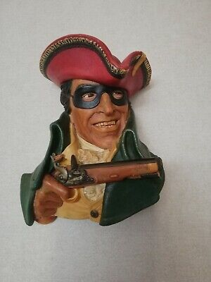 £9.99 • Buy A Large Bossons   Highwayman  Dick Turpin Head.