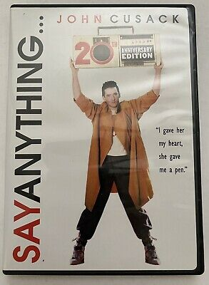 AU6.73 • Buy Say Anything (DVD, 2009, 20th Anniversary Edition) John Cusack  80's Classic!