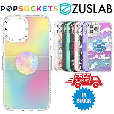 AU71.20 • Buy For IPhone 12 Pro Max Case Genuine PopSockets PopCase With Slide PopGrip PopTop