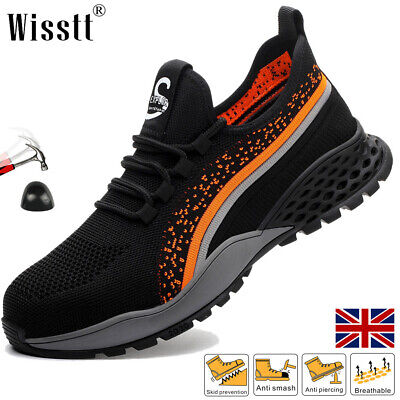 £24.99 • Buy Women's Casual Hiking Steel Toe Cap Trainers Work Shoes Safety Boots Comfy Ankle