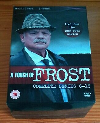 £27.95 • Buy A Touch Of Frost: The Complete Series/Seasons 6-15 [DVD]