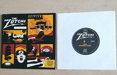 £10.50 • Buy The Zutons- Pressure Point 2004 Ltd Edition Fully Autographed 7  Vinyl. Unplayed