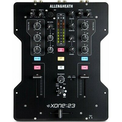 £257.20 • Buy Allen & Heath Xone: 23 Professional 2 Channel DJ Mixer With Filters - A&H